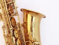 French Selmer 802 E Flat Alto Saxophone Professional Brand Gold Electrophoresis Saxon Musical Instrument Saxophone Super