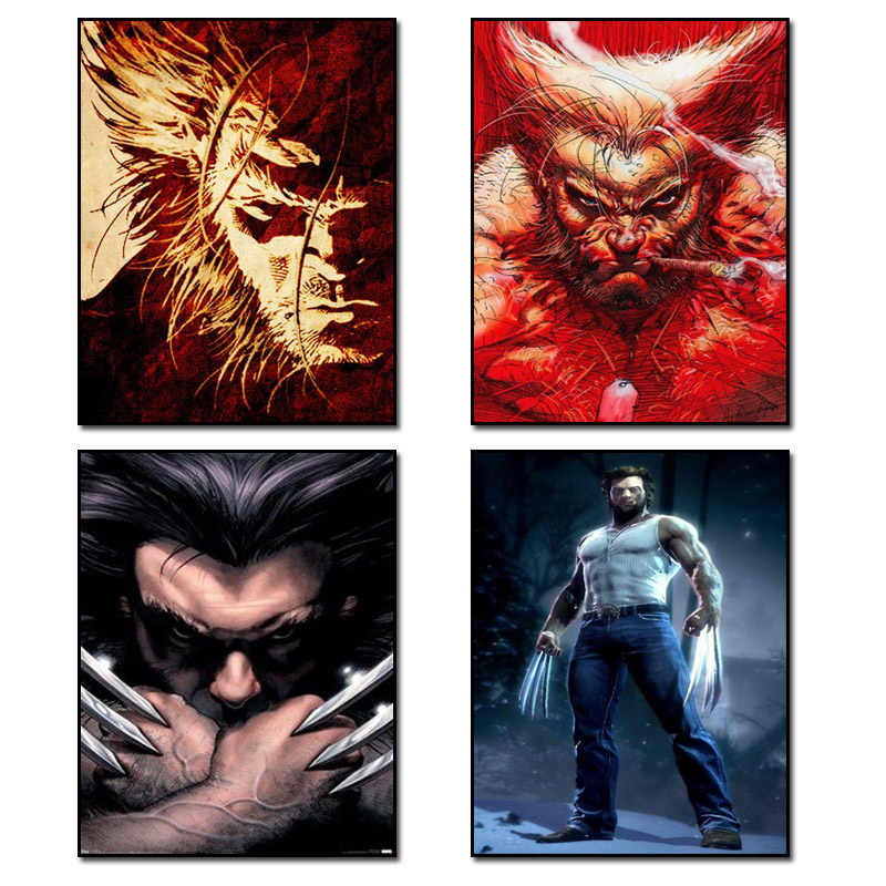 X Men family Diamond painting cross stitch full Diamond embroidery Europe Home decoration Square drill animal series in Diamond Painting Cross Stitch from Home Garden