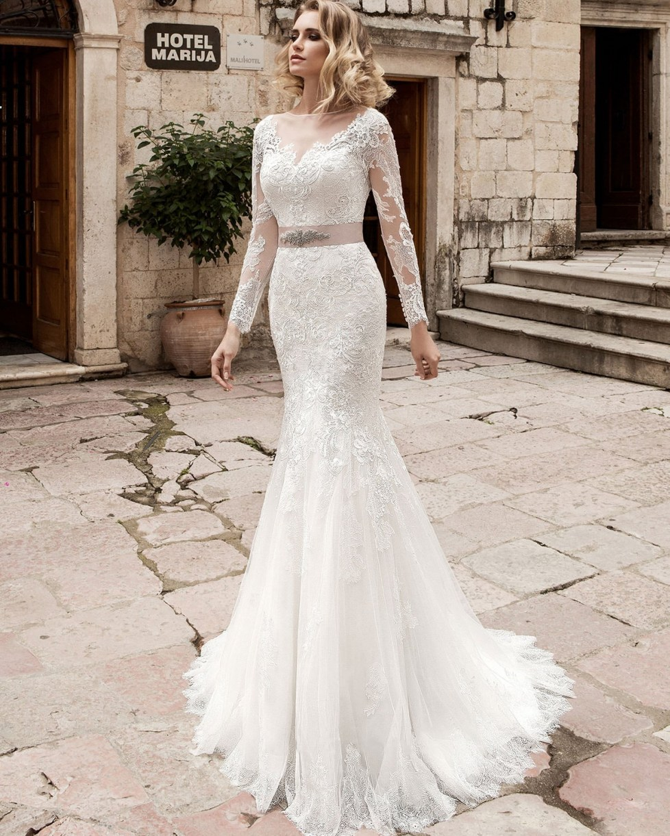 wedding dress women civil sexy lace backless wedding dresses 2016