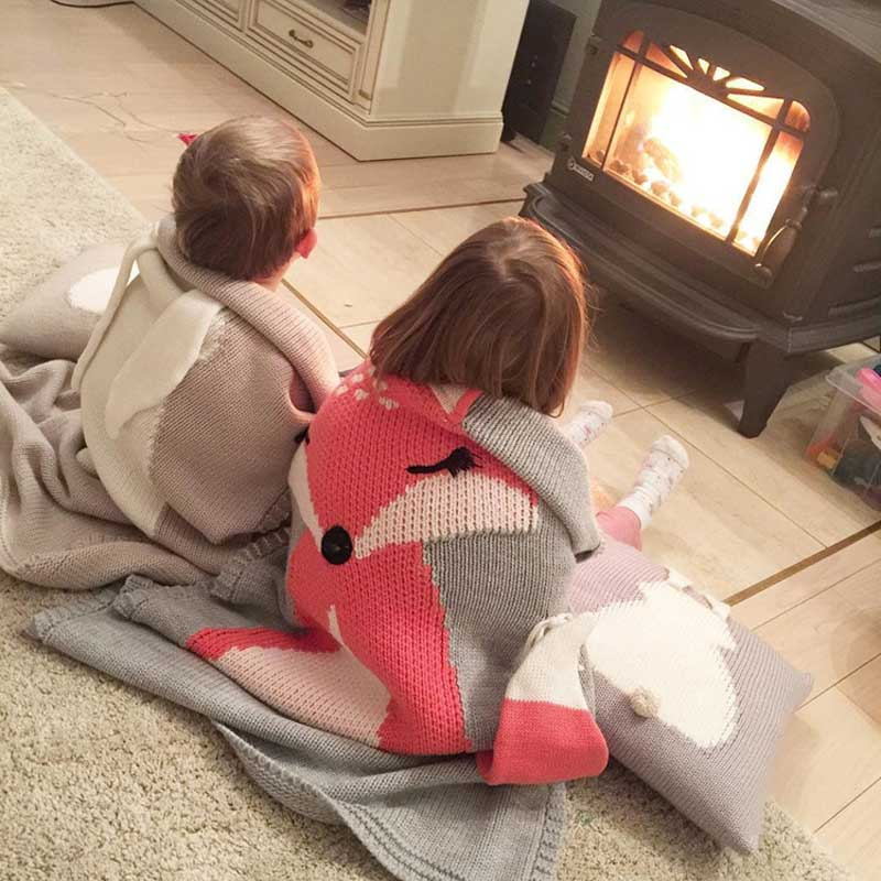 Knitting Blanket Baby (7)