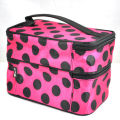 Dot Beauty Case MAKEUP Large Cosmetic Set Toiletry Bag For Woman