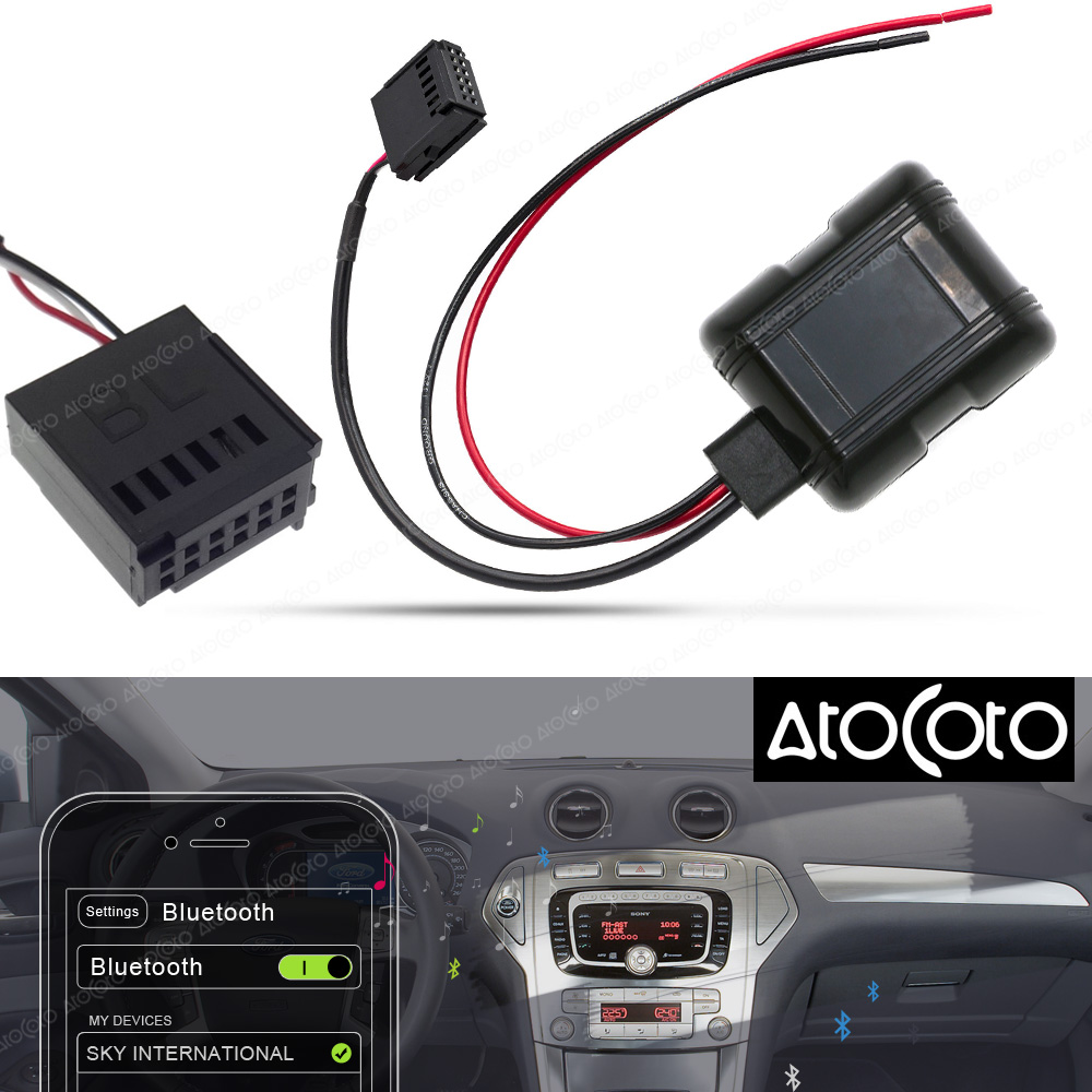 best top adapter cables mp3 aux cd for ford focus brands and