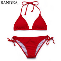 BANDEA Women Swimwear 2017 Bandage Bikini Brazilian Set Sexy Swimsuit Bathing Suit Women Padded Bathing Suit