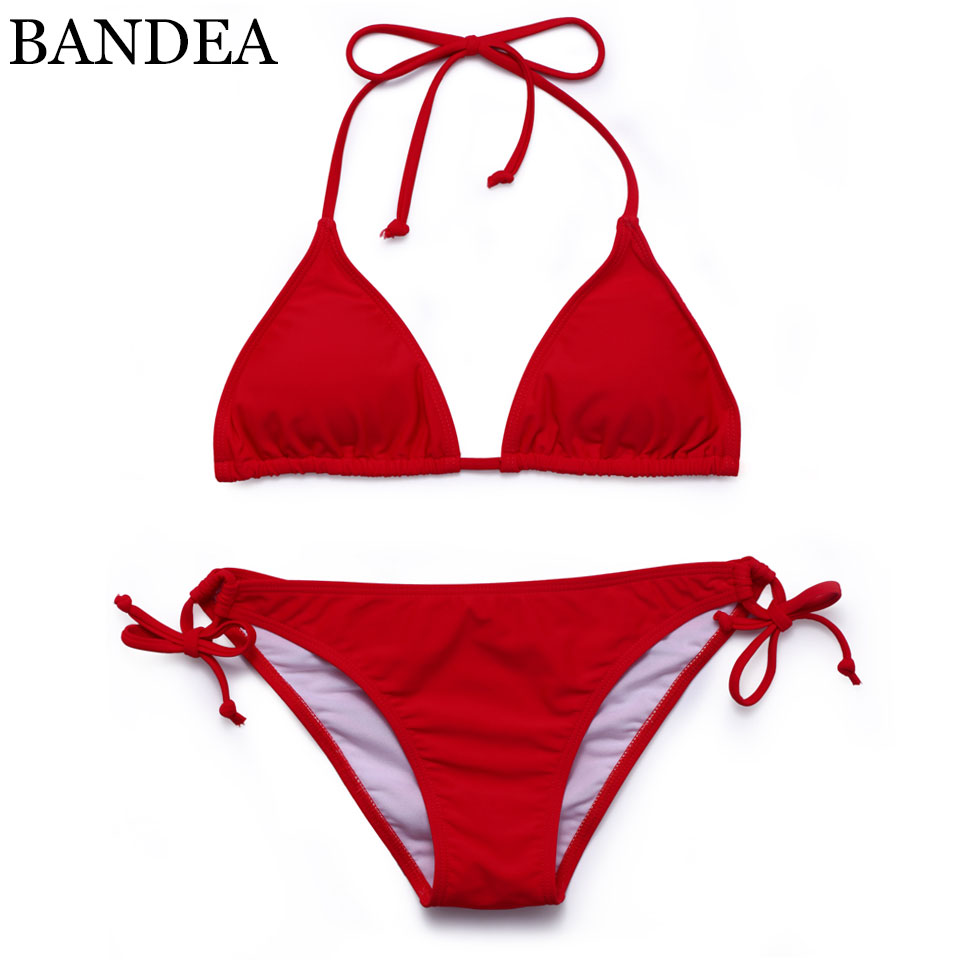 BANDEA women swimwear 2017 bandage bikini brazilian set sexy swimsuit bathing suit women padded bathing suit beach wear hezong women bandage bikini set swimsuit swimwear bathing suit