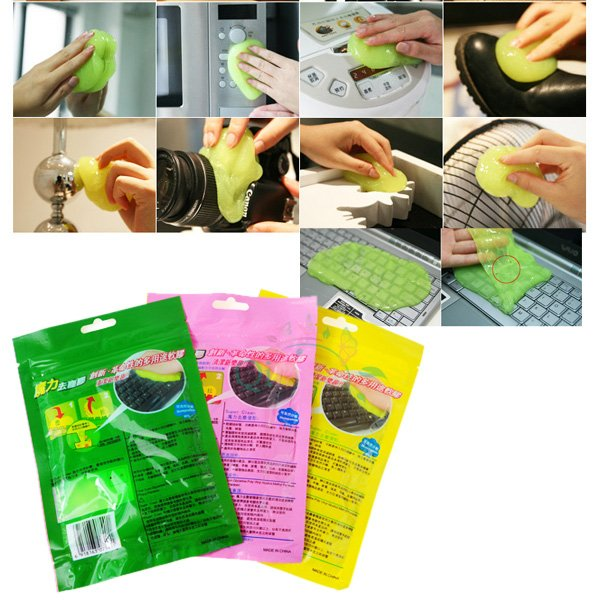 High-Tech Magic Super Clean Slimy Gel for Phone Laptop Computer Keyboard Cleaning Random Cleaner Dust Compound