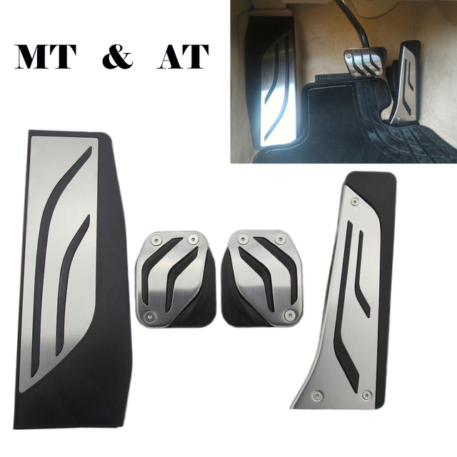 Car Pedals Cover Fit For BMW 3 series F30 F31 F34 M3 F80 316i 318 328 320i 330i 335i Pedal pad Car Accessories