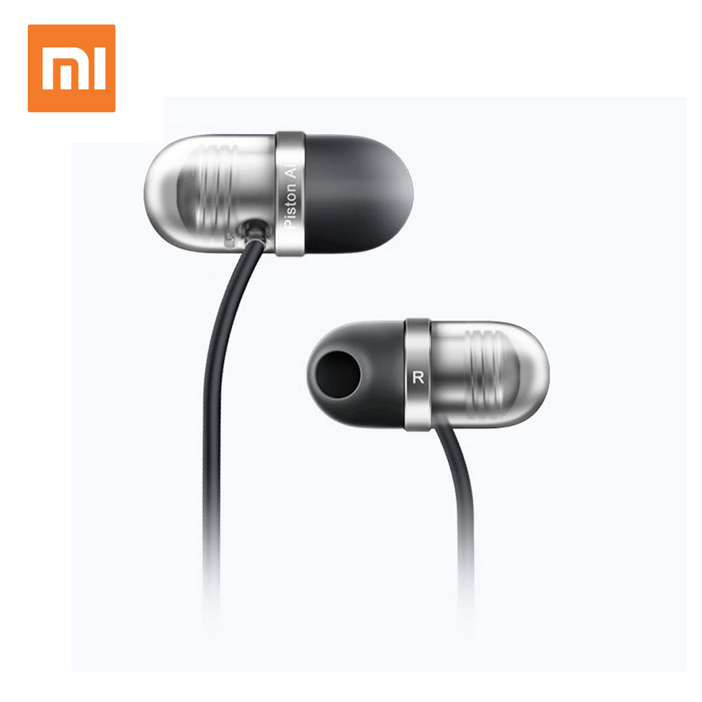 Original Brand Xiaomi Earphone Capsule Headphone Piston Earbuds Air Mi Headset With Microphone Xiaomi mp3 плеер ruizu x05