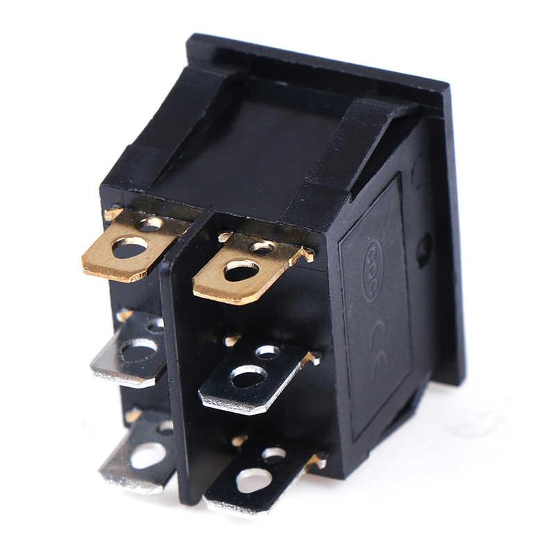 1PCS Rocker Switch Belt Cat-eye Switch Two Gang Switch Double Switch