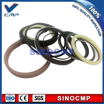 2 sets R160LC-7 R170W-7 R180-7 Boom Cylinder Repair Seal Kit 31Y1-20430 For Hyundai Excavator Service Kits