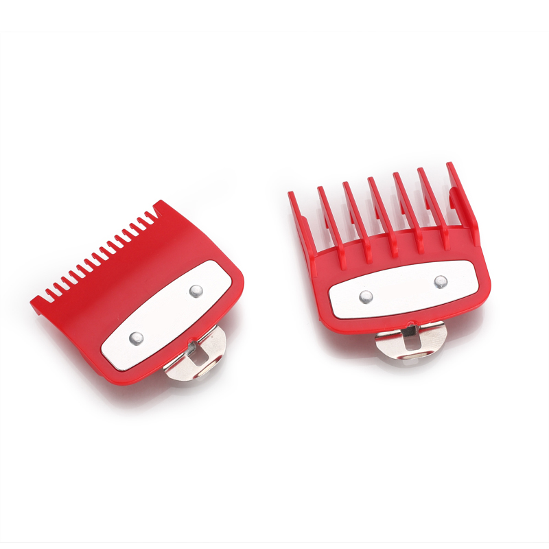 KIKI 2 sizes of guide comb sets 1.5+4.5mm attachment comb set with a metal holder fit for many size and brand clipperKIKI 2 sizes of guide comb sets 1.5+4.5mm attachment comb set with a metal holder fit for many size and brand clipper