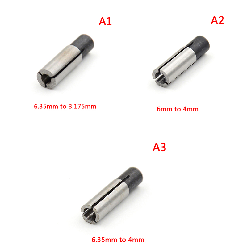 1x Engraving Bit CNC Router Tool Adapter 1/8