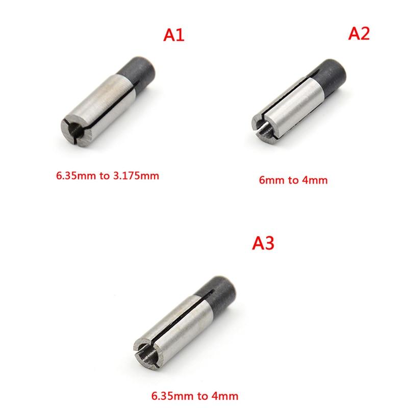 1x Bit de gravure CNC routeur outil adaptateur 1/8