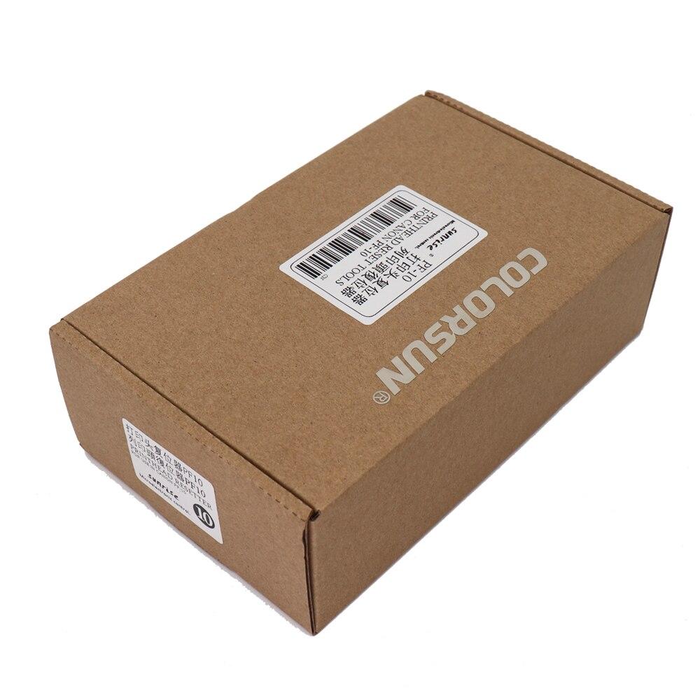 Печатающая головка PF 10 Reset для Canon Pro 540 560 520 4000 6000, новая печатающая головка для Canon Pro 540 560 520 6000