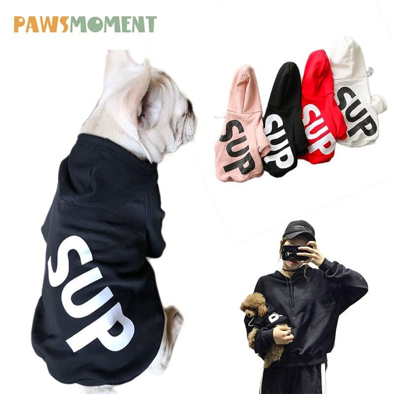 2018 Hot Vestiti Del Cane Per Cani di Piccola Taglia Francese Bulldog Cotone Cappotto Felpe Per Pug Autunno Estate Chihuahua Pet Vestiti Ropa perro
