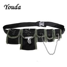 Youda Multi bolsillo Hip Hop estilo táctico Paquete de moda Unisex bolsa de pecho tendencia poliéster bolsas de cintura diseño Original bolsillos