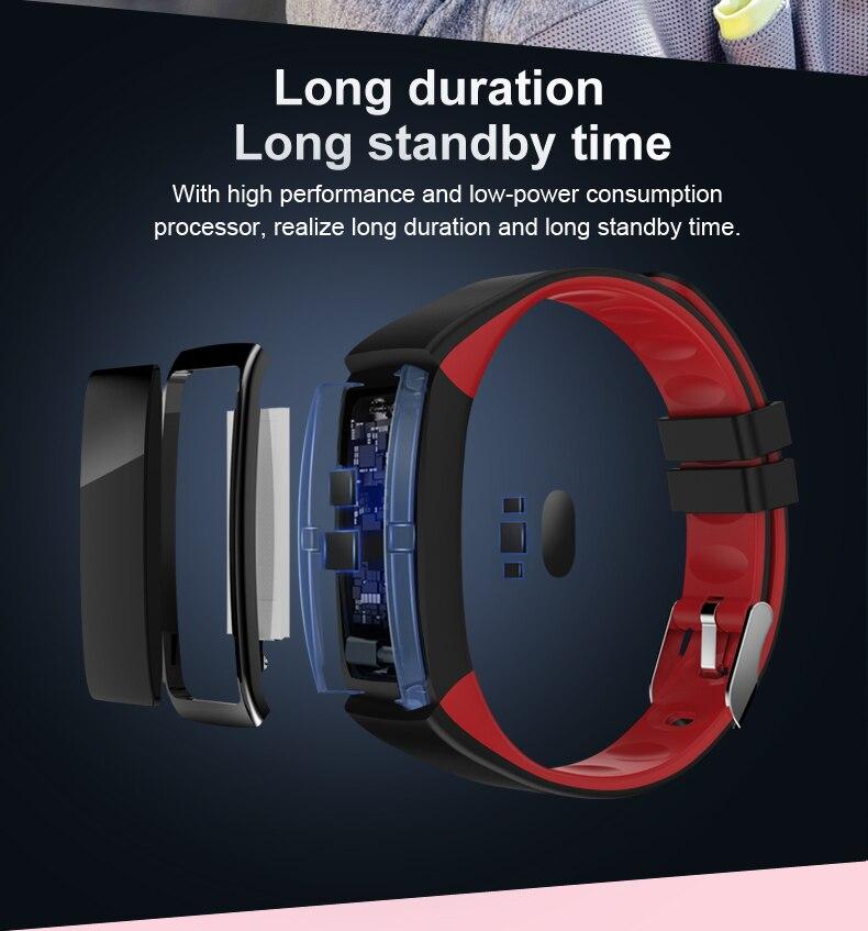 Cardíaca pulseira Smartband atividade Rastreador De Fitness