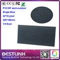 P10 dip-346 полу-открытый один синий 32 * 16 пикселей из светодиодов дисплей 320 * 160 мм из светодиодов сообщение цифровой из светодиодов вывеска diy