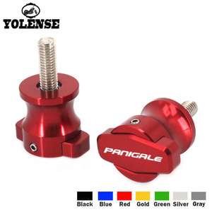 Motorcycle CNC Frame Stands 6MM Screws sliders Swingarm Spools Slider For DUCATI 899 PANIGALE 959 PANIGALE 1199 PANIGALE 1299