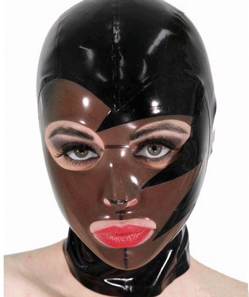 All A latex mask remarkable