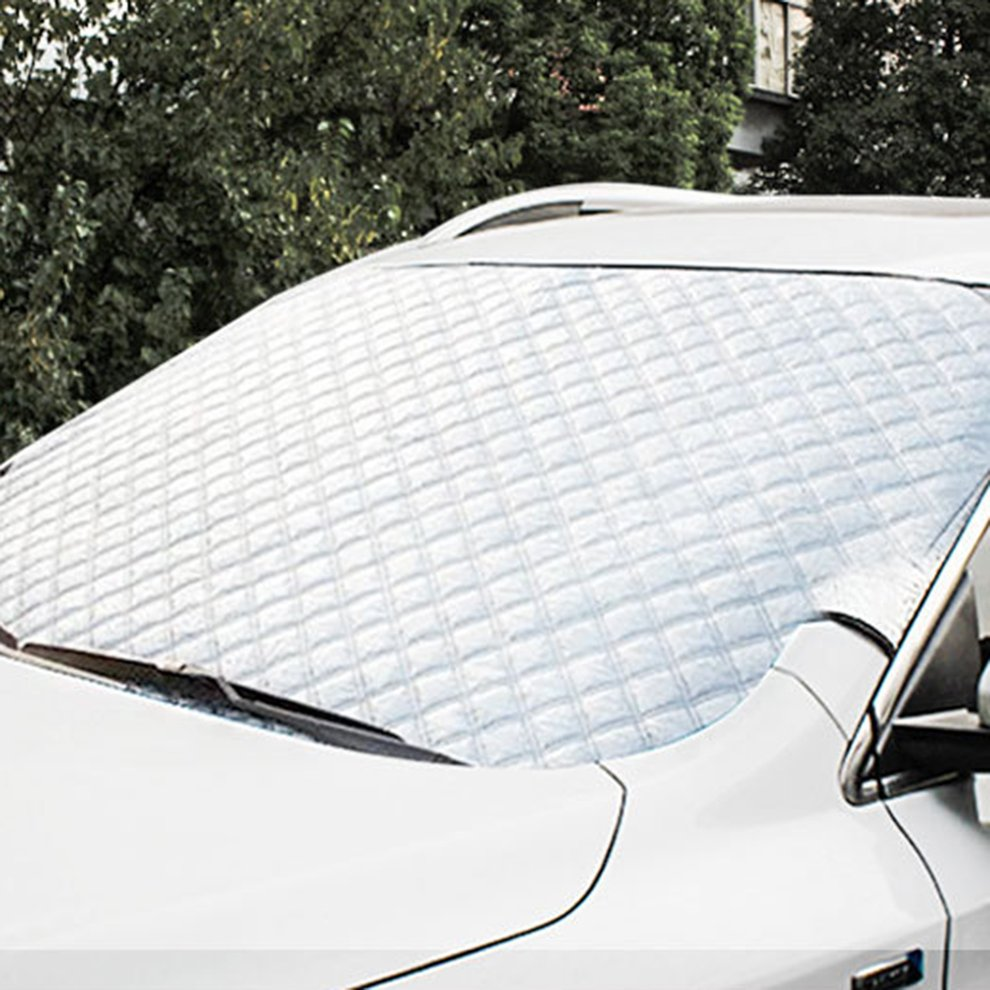 215*125cm Car Magnet Windshield Screen Cover Sun Snow Ice Frost Wind Winter Protectors