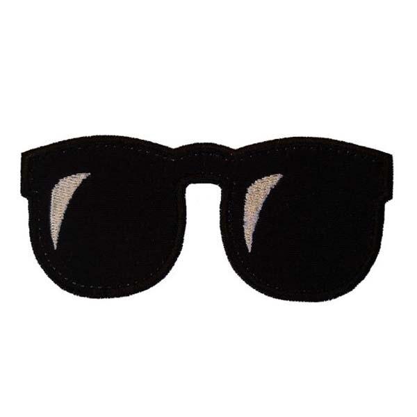 Очки с вышивкой куртка термонаклейки пятнами хлопковые этикетки для Костюмы тепло вырезаный& утюгом на подложке нестандартной конструкции MOQ50pcs