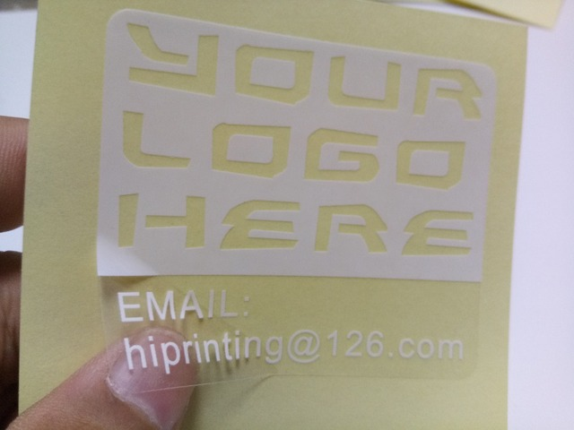 Custom wholesale round plastic stickers printing full color printing