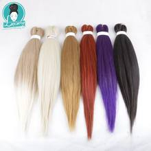 Luxury for Braiding Hair 8packs/lot Pre stretched Layed Perm Yaki EZ Braids Ombre Color 26 inch Jumbo Braid 24colors(China)