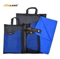 102cmx183cm Microfiber Towel Fast Drying Compact Lightweight Travel Sport Camping Swim Beach Towel Bath Sheet With Carry Bag