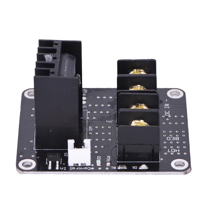 Black 3D Printer Heated Bed Power Module High Current 25A MOSFET Upgrade RAMPS D Printer Accessories