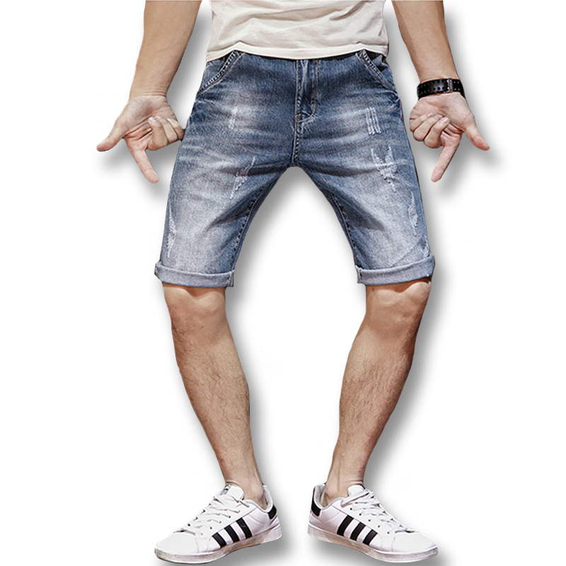Men Fitted Jean Shorts Promotion-Shop for Promotional Men Fitted ...
