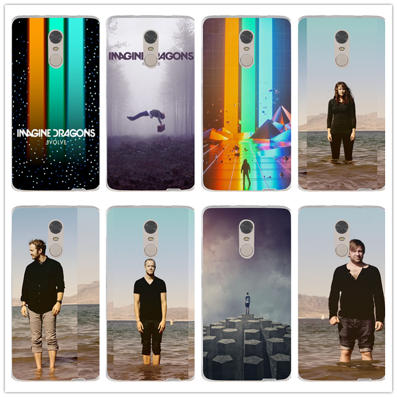 Imagine Dragons Night Music Silicon Soft Tpu Cell Phone