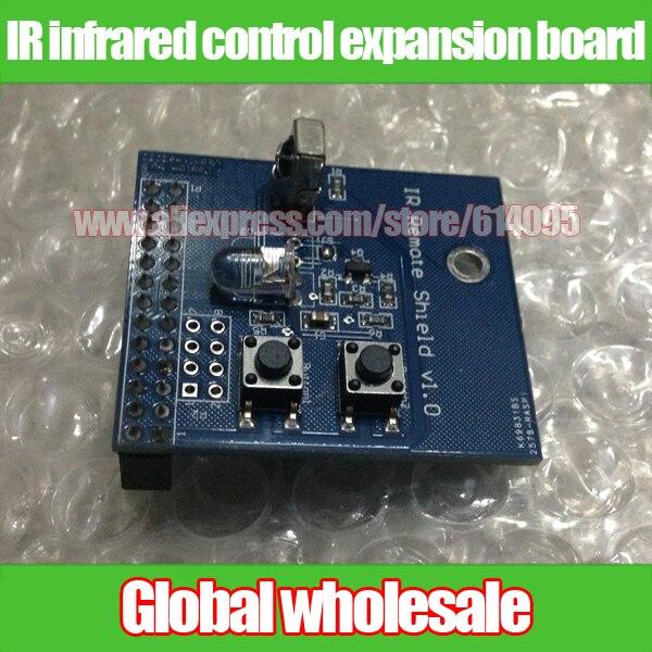 Малина Pi ИК-управления плата расширения/приемник передатчик/двойной ИК-излучатель DIY/ИК пульт дистанционного щит для Raspberry pi