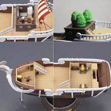 Anime One Piece Thousand Sunny Meryl Boat Pirate Ship Figure Toys Collectible Toy 35cm