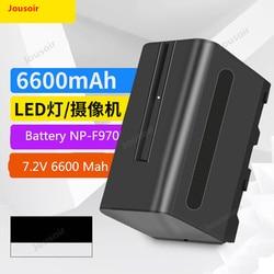 Camera Battery NP-F970/6600 Ma Li-ion battery led photographic lamp filling light battery LED Lamp General Purpose CD50 T03