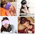 Útiles Las Mujeres de Los Hombres de Seda Pura Suave Para Dormir Máscara para Los Ojos Vendados Relax Viajes Unisex Cómodo de Alta Calidad