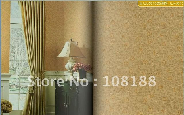 free shipping special price!fashion country style 0.53*10m PVC wallpaper ,small flower vinly wall paper,home decoration,#5810