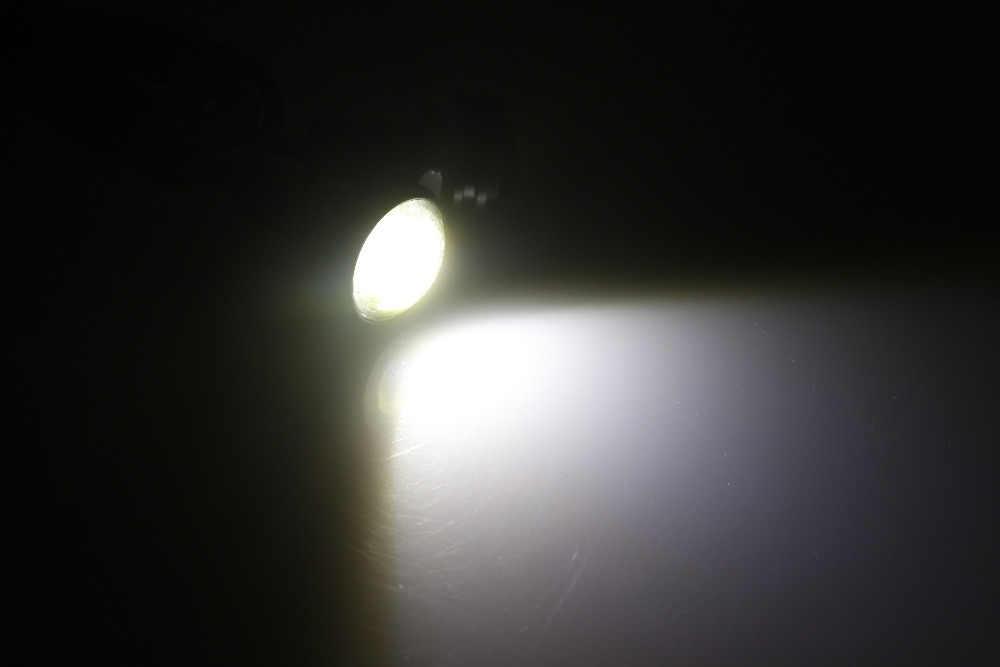 1 قطعة 3 W 23 مللي متر 12 v 24 v LED الخارجية أضواء الضباب مصباح سيارة cob شاحنة DRL سيارة النهار الجري الخفيف عكس ضوء السيارات سيارة النسر ضوء