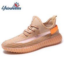 YEINSHAARS Men Sneakers High Quality Lightweight Fashion Mes