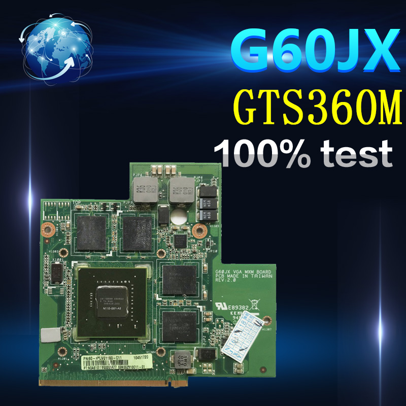 Amazoon  High Quality For Asus G60JX VGA CARD Graphic Card N11E-GS1-A3 GTS360M GTX 360M 1GB 100% Tested Fast Ship