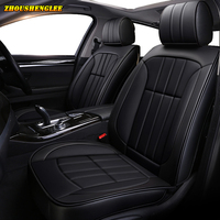New luxury Leather car seat covers for chrysler 300c voyager citroen berlingo c4 cactus c4 grand picasso chery tiggo Automobiles