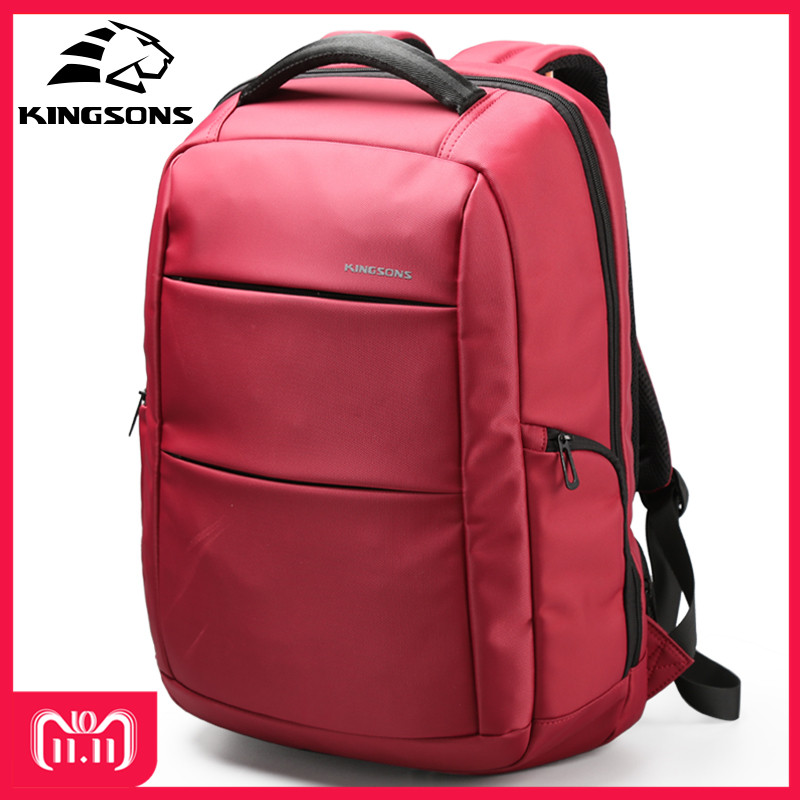 все цены на Kingsons Girl's Function Laptop Backpack Man Business Dayback Women Travel Bag 15.6 inch Wear-resistant School Backpack Bags