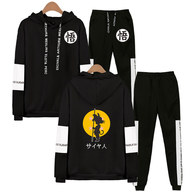 SET DRAGON BALL HOODIE + TROUSERS (12 VARIAN)