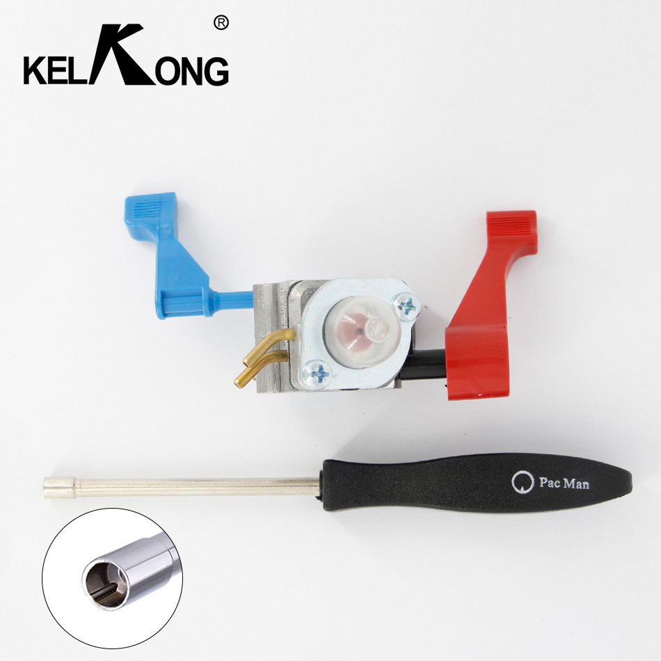 KELKONG Carburetor Carb For C1Q-W11G Craftsman Weed Eater Blowers 530071465 530071632 530071775 With Pac man Screw Tool ...