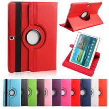 For samsung  tab s 10.5 cover 360 Degrees Rotating PU Leather Case Stand Cover for Samsung Galaxy Tab S 8.4