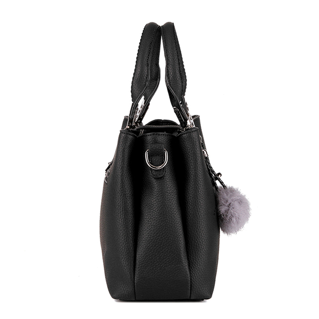 DIZHIGE Brand Fashion Fur Women Bag Handbags Women Famous Designer Women Leather Handbags Luxury Ladies Hand Bags Shoulder Sac
