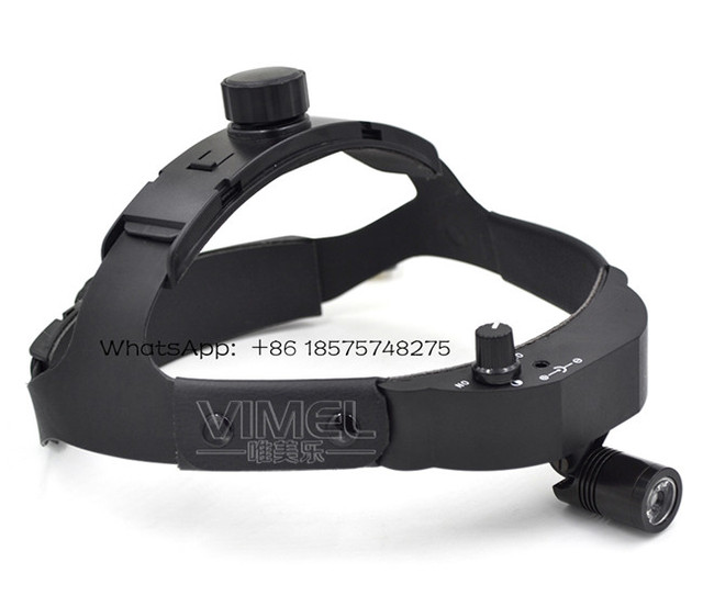 LED Surgical Headlight with helmet High Power Medical Dental Head Lamp Adapter Head Mounted Medical Light