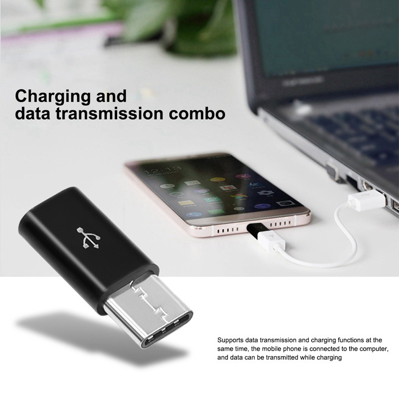 5PCS Type-C Adapter Android To Type-c Synchronous Data Charging Adapter Phone Adapter Charging Data Adapter For Android