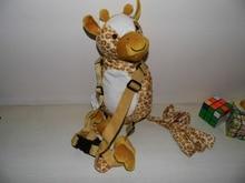 Promotion Giraffe Harness Buddy Animal Reins Goldbug s Harness Buddy Back Packs Plush Toy Backpack Baby