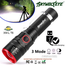 600LM T6 LED Flashlight Portable