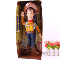 Toy Story The Sheriff Woody Action Figure Talking Speaking PVC Collection Model Toys Gift For Kids